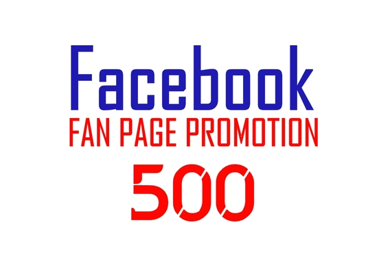 I will Facebook fan page promotion