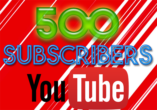 I will Give 500 youtube subscribers
