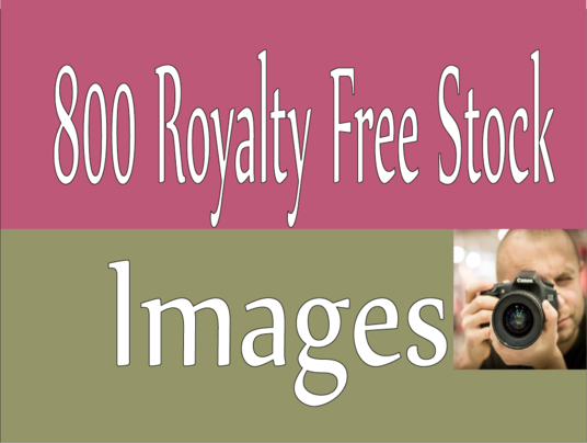 I will Give High Quality 800 Royalty Free Stock Images