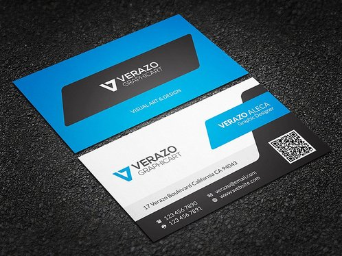 cccccc-Design Business Card With Two Concepts