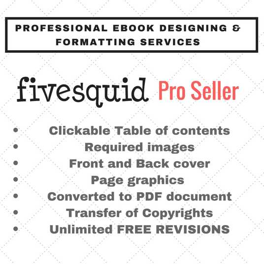 I will design your ebook into Attractive PDF results