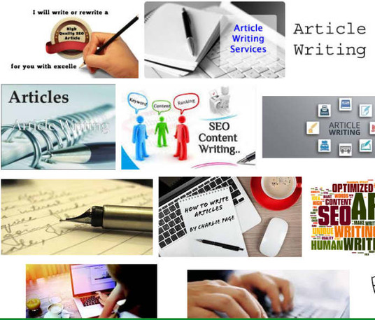 I will provide quality blog and article writing of 500 words