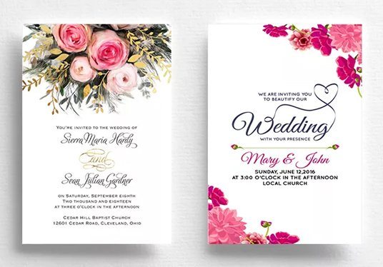 I will design great looking invitation card