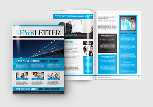 Create Newsletter for Business, Fashion, Company