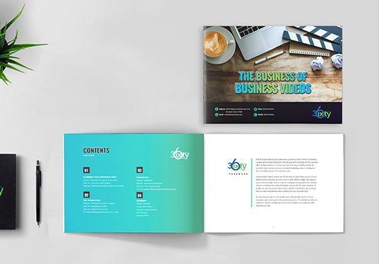 Design Landscape Brochure , Booklet, Report & Company profile for you