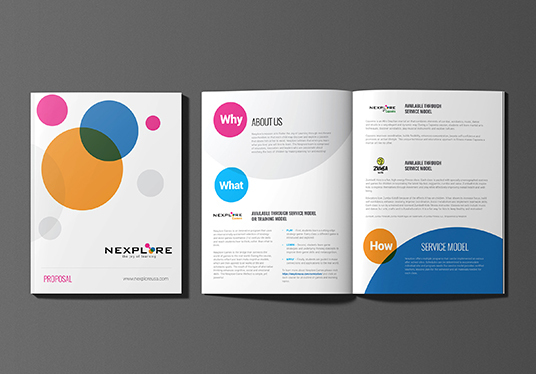 I will Design Colorful Professional Brochure, Booklet & Company profile