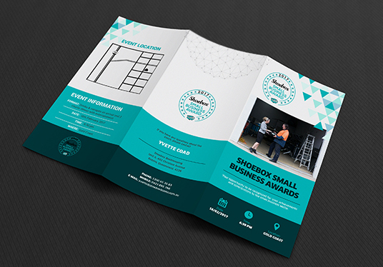 I will Design Corporate, Minimal Trifold Brochure & Handout