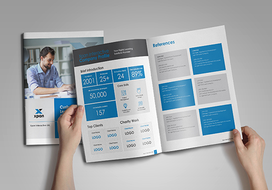 Design your Report and Brochure Professionally
