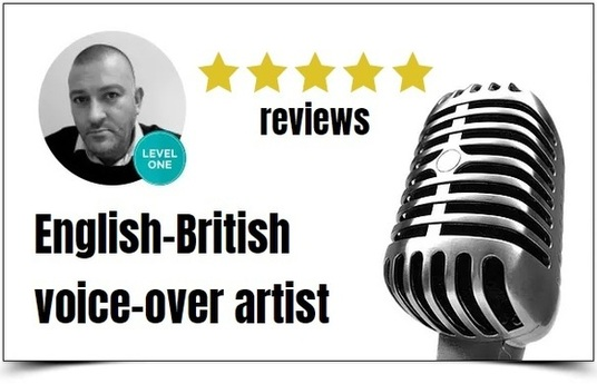 be the BEST English-British voiceover artist for your project