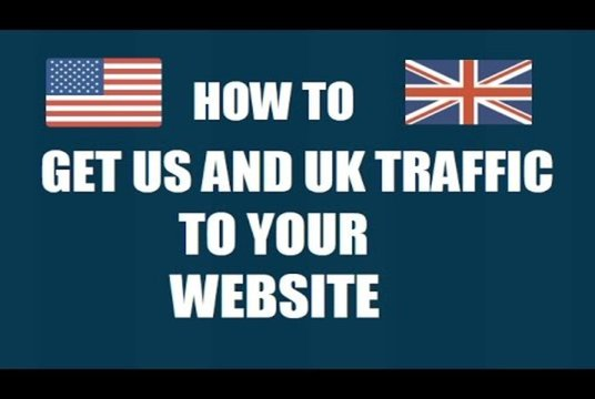 I will Give Real 24,500 UK and USA Website Traffic Safe and Secure