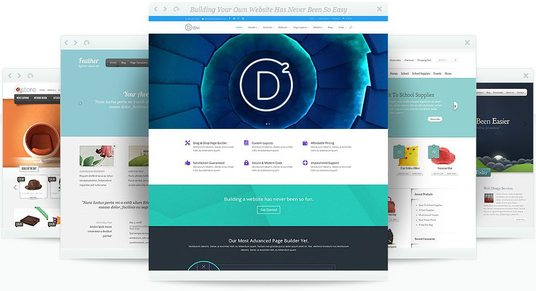 Install a DIVI premium theme and template design