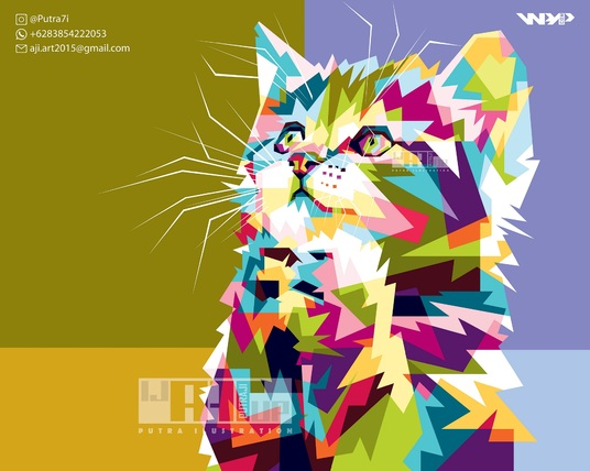 I will Make Colorful Style Animal Portrait