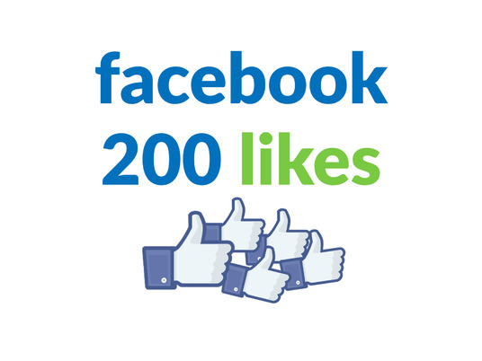 I will add 200 Facebook Likes or followers to your Facebook Page