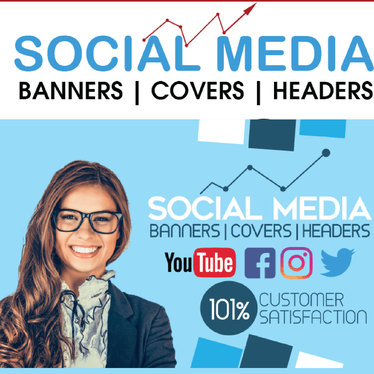 Design Stunning Social Media Banners, Headers, Ads, Cover