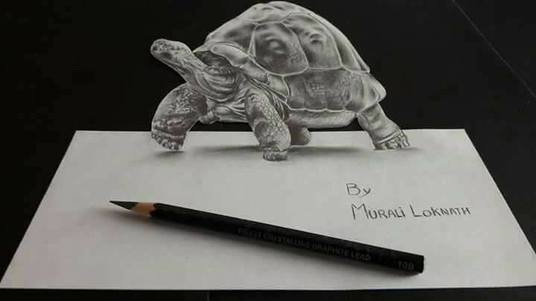 draw 3D pencil sketch of your pets or your Brand name
