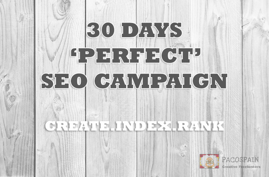 I will Skyrocket your website rankings with our 30 days SUPREME SEO PACKAGE