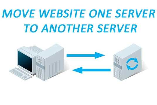 I will move website server to server, sub domain to live domain, transfer hosting, transfer domai
