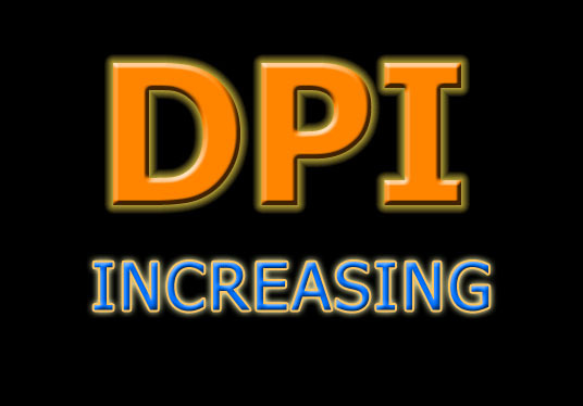 I will increase DPI of 20 images