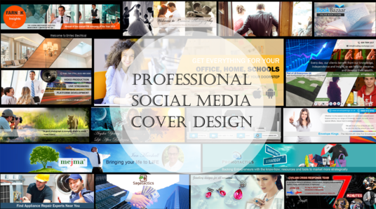 I will Design A Professional Social Media Cover Image, Banner Or Ad