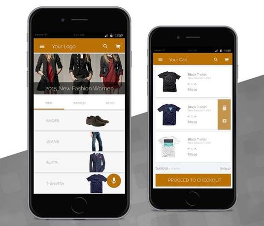 I will design and develop a ecommerce app