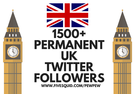 I will add 1500 permanent UK twitter followers