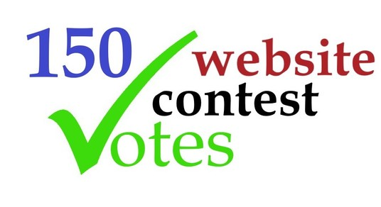I will provide 150 genuine votes to your entry to any website contest