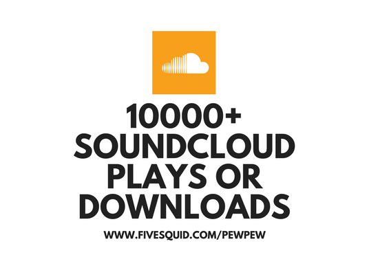 I will send 10000 Soundcloud plays or download