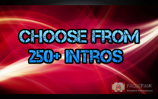 I will create a promotional intro video of the best 250+ videos we have