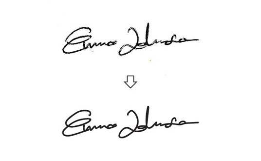 I will create your Electronic Signature