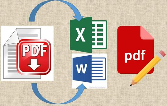 I will Edit, Merge, Split, Convert Pdf And Create Fillable Forms In 24 Hours