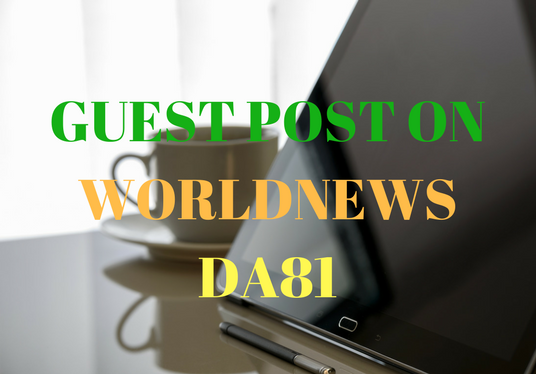 I will Write and Publish article on WORLDNEWS DA81 to add HUGE VALUE to your website