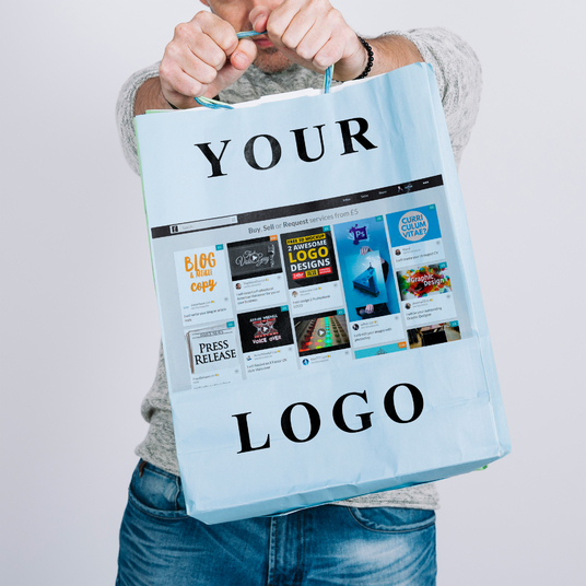 I will put your logo on this bag