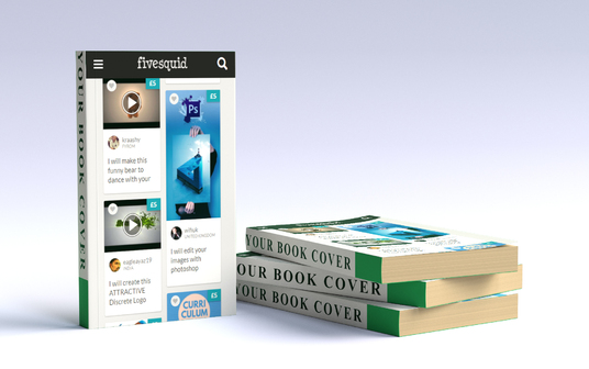 I will add your book cover to this mockup