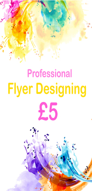 Create any Type of Flyer/Poster