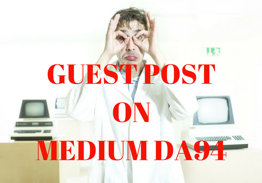 I will Write and Publish article on  MEDIUM DA94 to add HUGE VALUE to your website