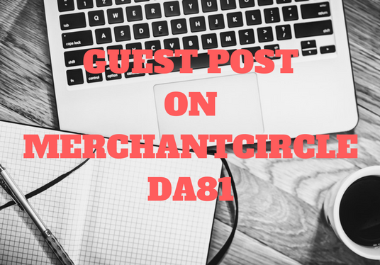 I will Write and Publish article on MERCHANTCIRCLE DA81 to add HUGE VALUE to your website