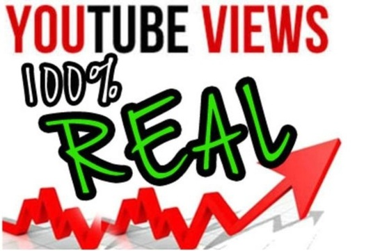 I will give 8,000 UK YouTube views, real, permanent, organic views