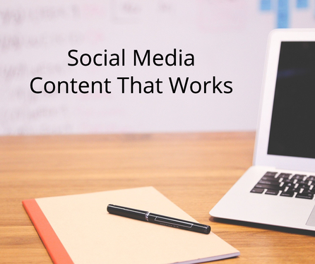 write 40 posts of content for social media to promote your business successfully