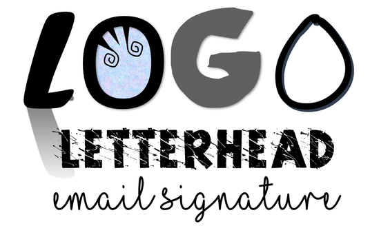 I will create you a logo, email signature, and digital letter head for you