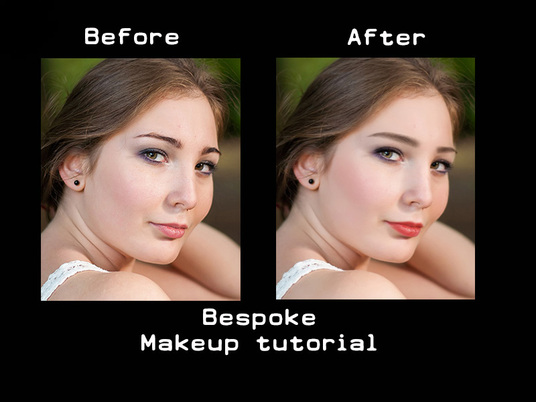 I will create a customised makeup tutorial so you can photoshop yourself for real