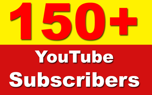 Add 150+ YouTube Subscribers Non Drop, Safe & Fast