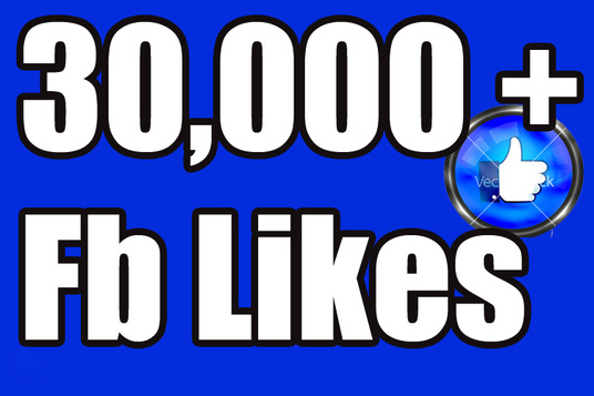 I will Give you 30,000+ Nondrop Real Active Permanent High Quality facebook fanpage likes