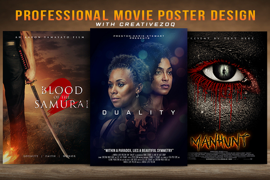 I will Design A Professional Movie Poster
