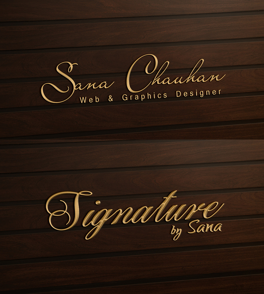 I will design STYLISH Signature Logo for your business