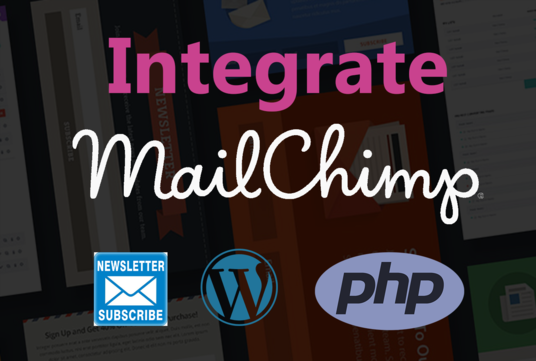 I will integrate mailchimp on your wordpress or any website