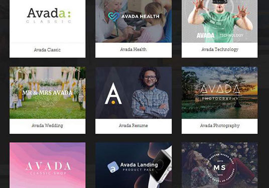 I will create a complete working beautiful, responsive website using Avada theme, Divi theme, Bet