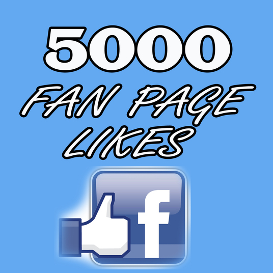 I will add 5000 real Facebook fan pages likes