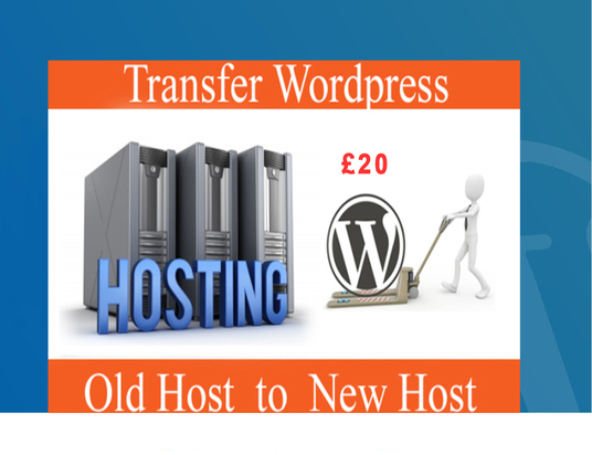 I will Clone/Migrate and Transfer WordPress website to a new host
