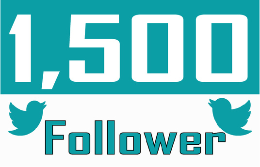 I will Add 1,500 Twitter Followers