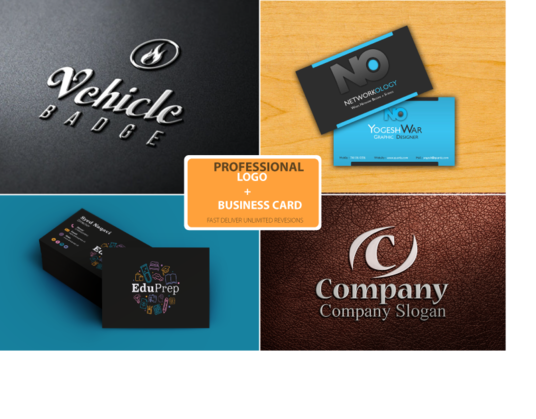 I will design Simple and Unique logo or Business Card
